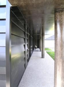 Bureaux et vestiaires des Services environnement et déchets | Protection des camions BOM | La Riche | Tour(s)Plus